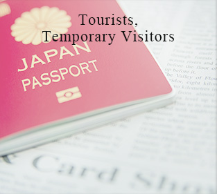 Tourists, Temporary Visitors